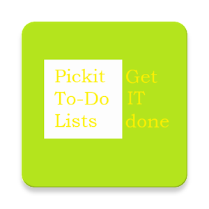 Download Pickit:To-dolists for task management &get it done For PC Windows and Mac