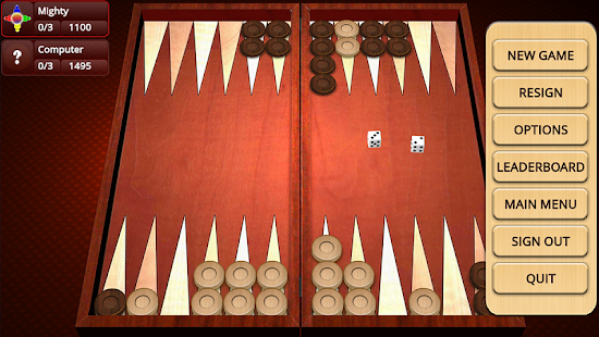 Backgammon Mighty