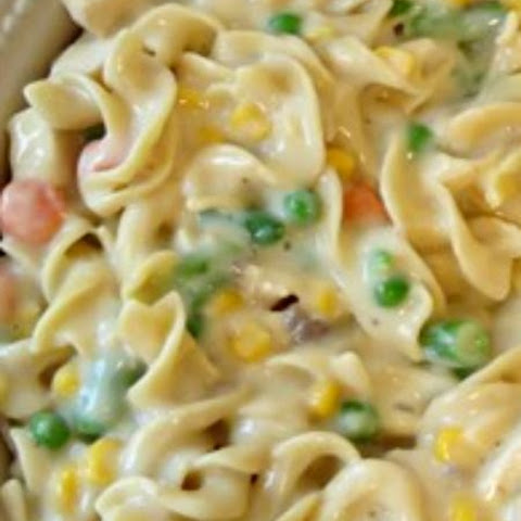 Perfect Chicken Noodle Casserole