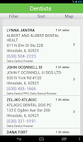 Screenshot of Delta Dental