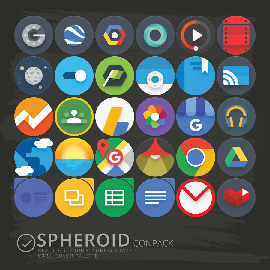 Spheroid Icon Screenshot 6