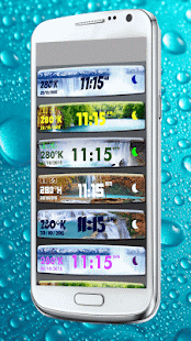 How to install Waterfall Clock Weather Widget lastet apk for android