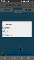 Screenshot of Random Generator