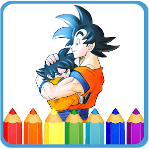 How To Color Dragon Ball Z -dbz new games