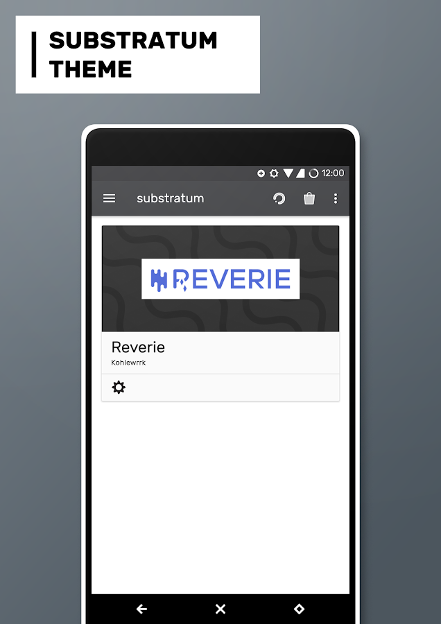 Reverie Substratum Theme Screenshot 7