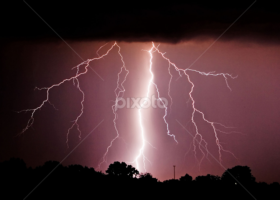 by Ron Swarts - Landscapes Weather ( lightning )