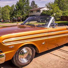 1964 Ford Falcon Convertible by Pat Lasley - Transportation Automobiles ( car, classic car, automobile, falcon, ford )