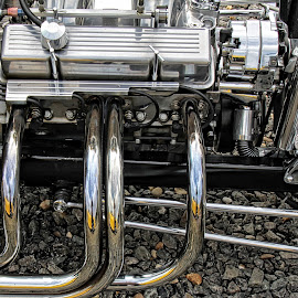 OW car engine 03 by Michael Moore - Artistic Objects Other Objects