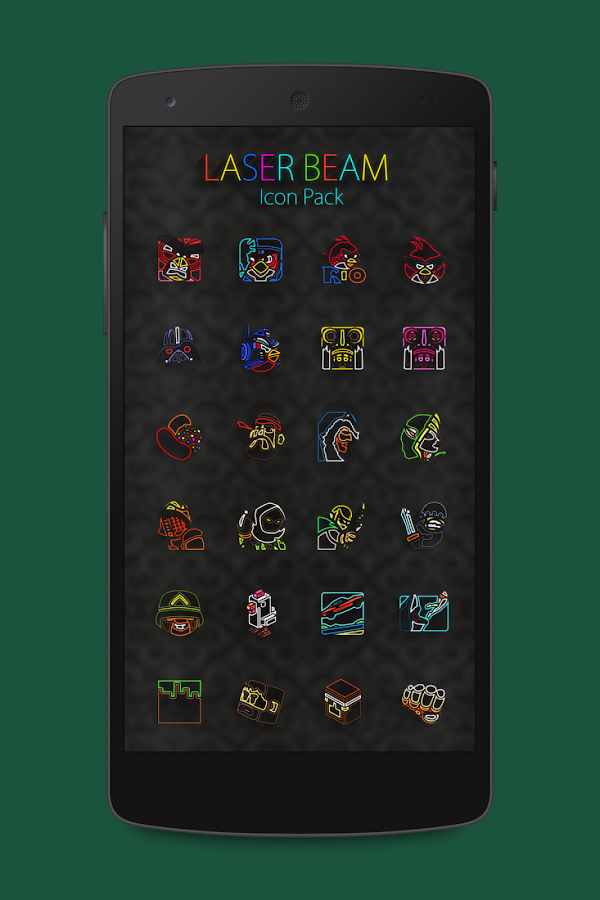 Laser Beam Icon Pack Screenshot 1