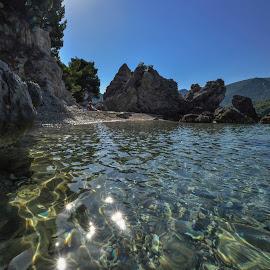 Hidden paradise by Dubravka Krickic - Landscapes Beaches ( hidden, croatia, peljesac, seascape, beach, paradise, peninsula )