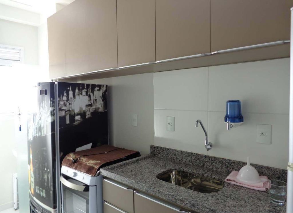 Apartamento com 2 dormitórios à venda, 58 m² por R$ 297.000,00 - Jardim Adelaide - Hortolândia/SP