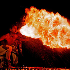 THE FIRE BALL  by Sharad Agrawal - People Musicians & Entertainers