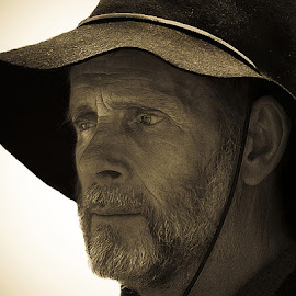 Yeoman by John More - People Portraits of Men ( event, old time, toned, man, portrait )