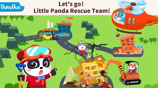 Little Panda's Earthquake Rescue for pc