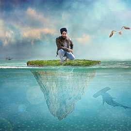 its about thinking by Jaspreet Randhawa - Digital Art People