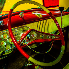 Gages by James Kirk - Transportation Automobiles ( car, gages, dashboard, antique )