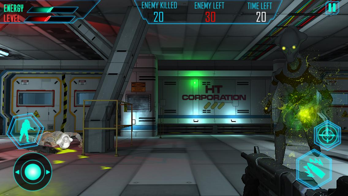 Alien Space Shooter 3D Screenshot 13