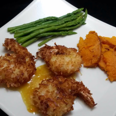 Coconut Shrimp with Lemon Marmalade Dipping Sauce