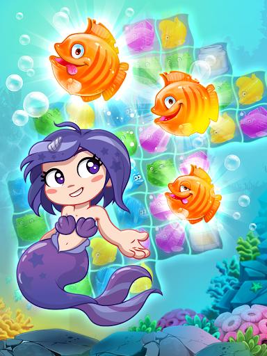 Viber Mermaid Puzzle Match 3 screenshot 12