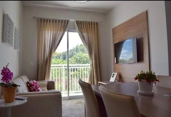 Apartamento mobiliado, residencial para locação, Jardim Floresta, Boa Vista.