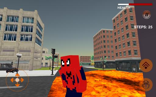 Spider Hero: Lava Floor For PC