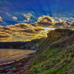 Swanage Coast by Matt Lampey - Landscapes Weather