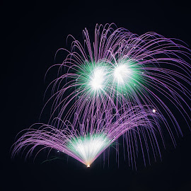 Naxxar by Ryan Agius - Abstract Fire & Fireworks ( amazing, purple, malta, naxxar, fireworks )