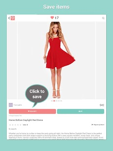Shop Clothing Sales: HeartThis - screenshot