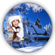 Snow Motion Photo Frame