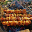 The shish kebab by Svetlana Essig - Food & Drink Meats & Cheeses ( shishkebab, food, pork, meat, picnic, , hungry, nomnom, yummy, foodie, eat, cook, family, cooking, groceries, breakfast, lunch, dinner, dessert, tasty )