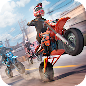 Game Real Motor Bike Racing - Highway Motorcycle Rider APK for Kindle