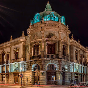 A Theater With A Taste to Mescal by Andrius La Rotta Esquivel - Buildings & Architecture Office Buildings & Hotels ( amazing, building, oaxaca city, mexico, buildings, architectural detail, theater, architecture, photography, street photography )