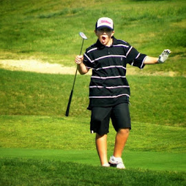 Score!!!!  Or maybe FORE!!! by Debbie Glisson - Sports & Fitness Golf