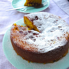 Gluten Free Orange and Almond Cake with Cointreau Syrup