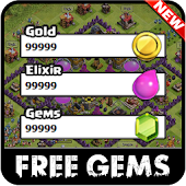 Cheats for Clash of Clans for free gems prank !