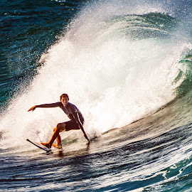 by Keith Sutherland - Sports & Fitness Surfing ( maui, surfer, wave )