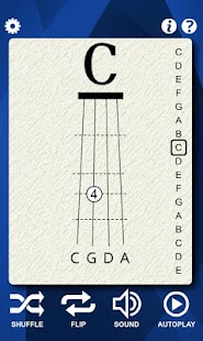 Cello Notes Flash Cards- screenshot thumbnail