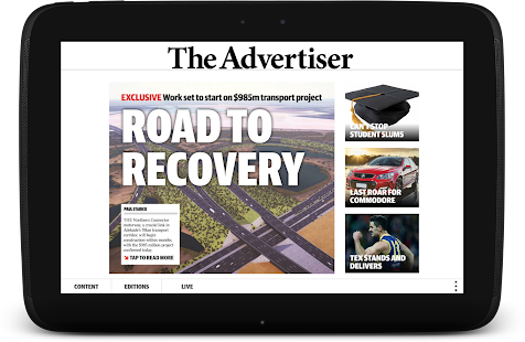 The Advertiser Sunday Mail Free Android App Market
