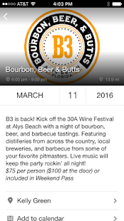 30A Wine Festival - screenshot