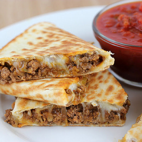 Three-Cheese Quesadillas With Garlic Butter Recipes — Dishmaps