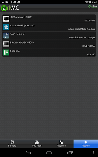 ArkMC - Media Streamer, Player - screenshot