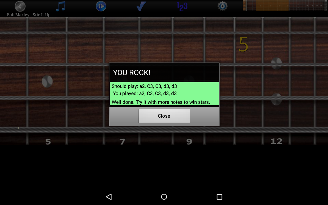Bass Guitar Tutor Pro Screenshot 19