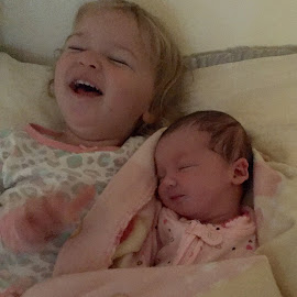 Sisters by Rhonda Lee - Babies & Children Children Candids