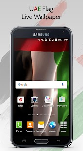 UAE Flag Live Wallpaper- screenshot thumbnail