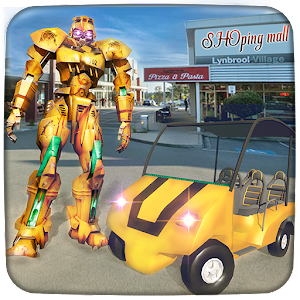Robot Shopping Mall Taxi Driver For PC / Windows 7/8/10 / Mac – Free Download