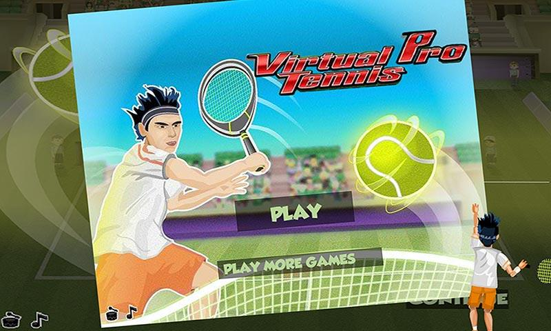 android Virtual Pro Tennis Screenshot 0