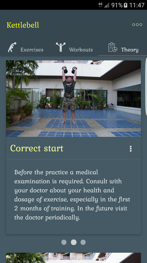 Kettlebells - 100 exercises Screenshot 2