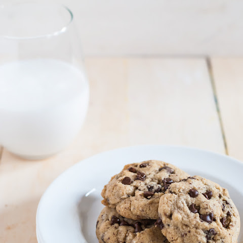 Brown Butter Hazelnut Chocolate Chip Cookies