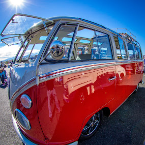 21 Window Volkswagon Bus by Jay Woolwine Photography - Transportation Automobiles ( vw, bus, 21 window, volkswagon )