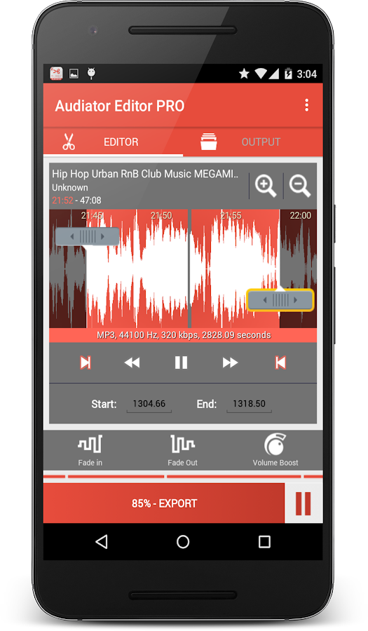 MP3 Cutter Ringtone Maker PRO Screenshot 8